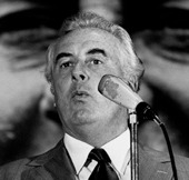 Image of Gough Whitlam.